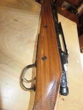 Carabine A verrou CZ 550 Medium 9.3X62 Etat quasi neuf avec rail Weaver