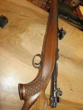 Carabine Husqvarna Waffenfabrick M98 9.3X62 Jaspée avec Point rouge Docter Sight III